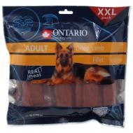 Snack ONTARIO Dog Dry Lamb Fillet 70g