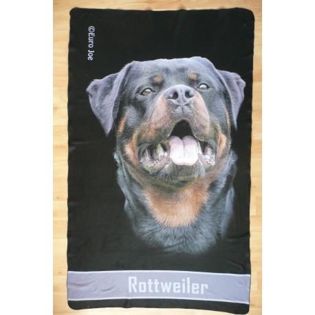 Flísová deka Rottweiler