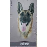 Flísová deka Malinois