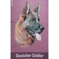 Flísová deka Německý ovčák