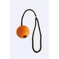 Balonek z mechové pryže s potkem - průměr 65mm