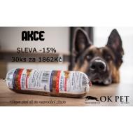 AKCE SLEVA 15%-Naturis Trvanlivý salám HOVĚZÍ-30ks