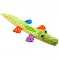 Krokodýl z mikroplyše a plastu
